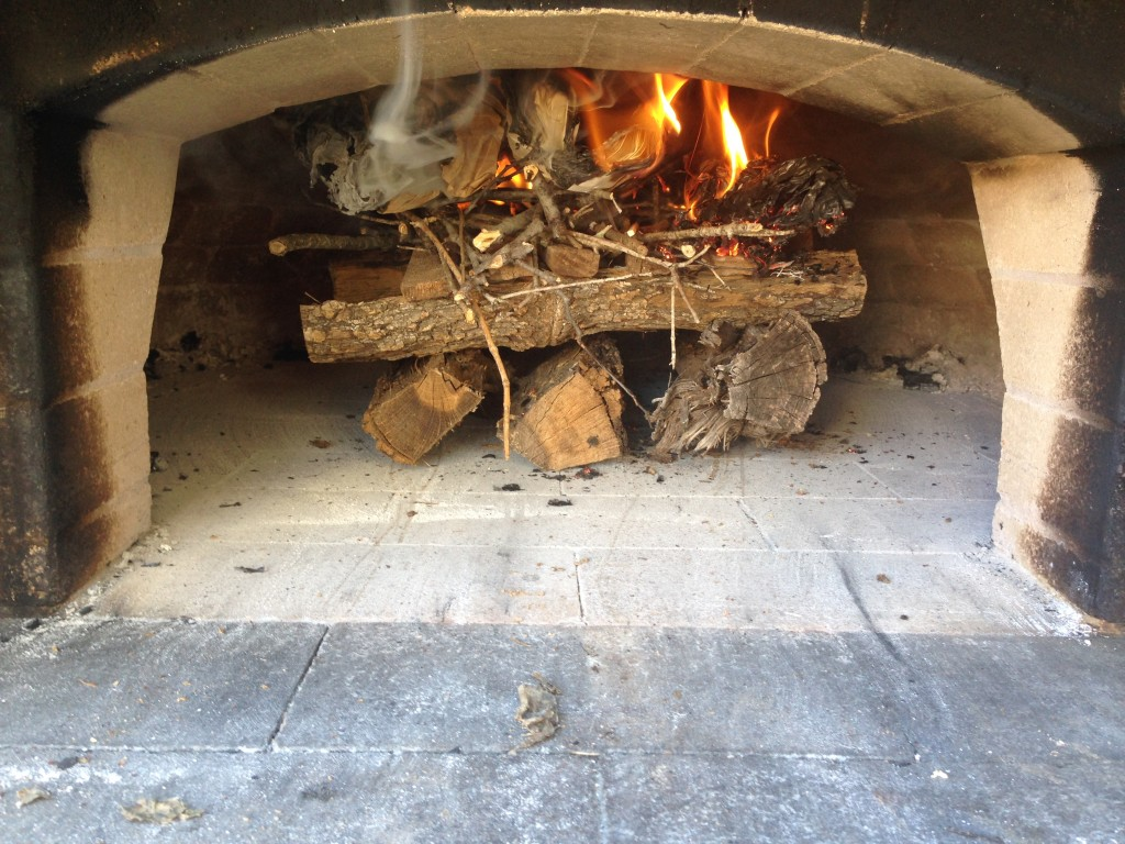 best wood-fired cookbook building a fire
