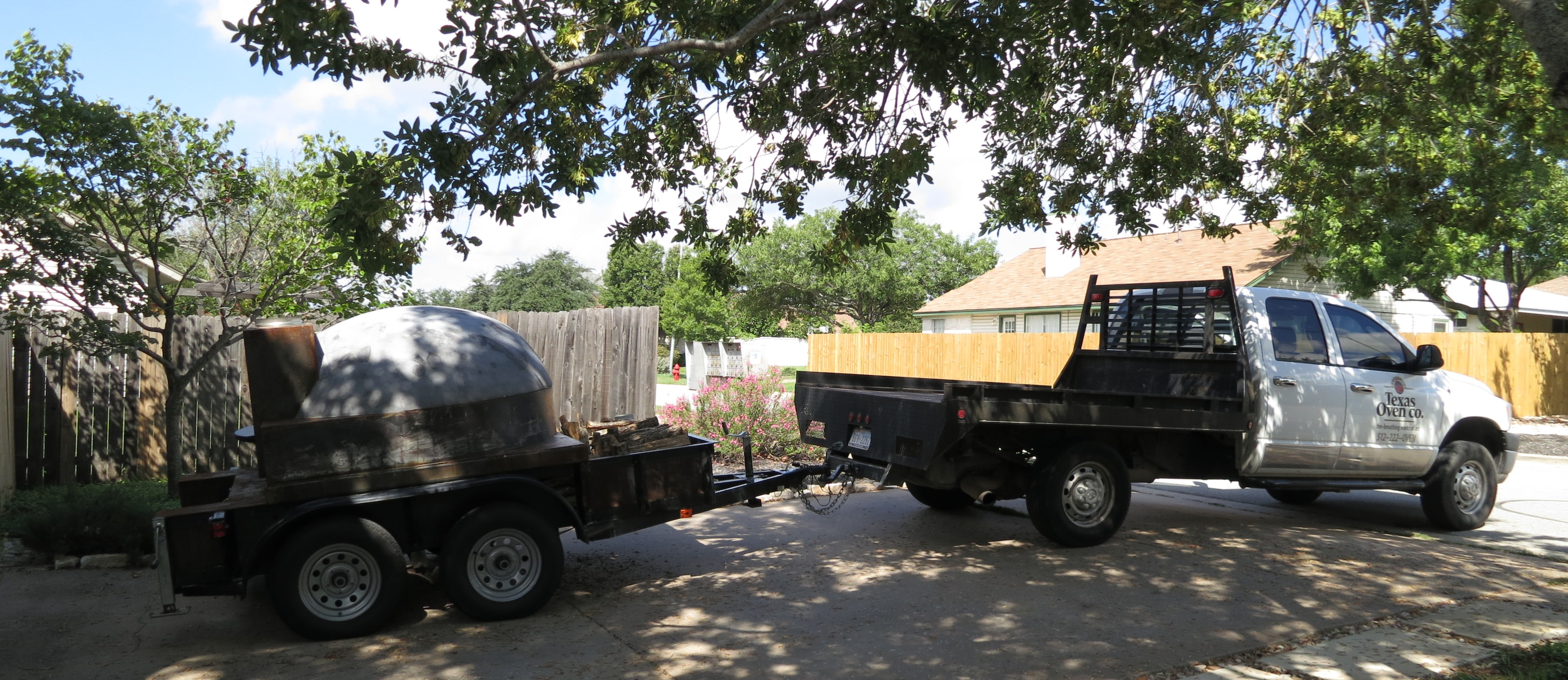 Portable wood fired pizza oven for sale - Mobile Pizza Ovens Austin Tx