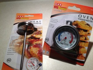 use oven thermometer to monitor low temperature, your wood-fired pizza oven makes a great smoker