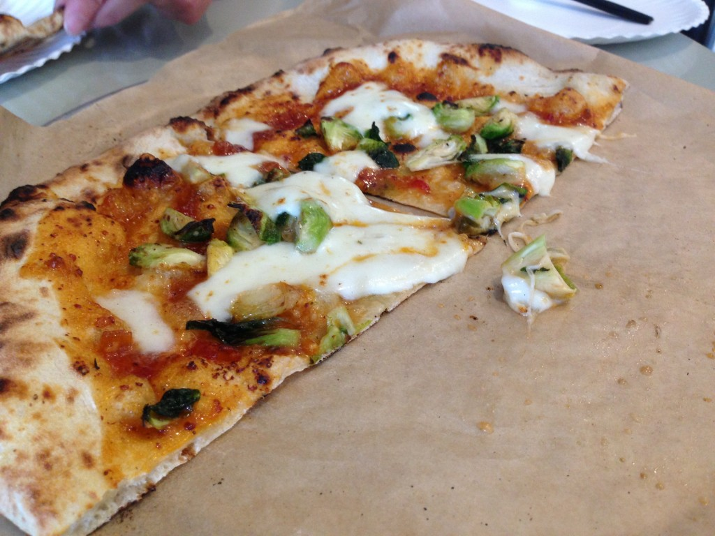wood-fired pizza at Pieous in oven by Texas Oven Co