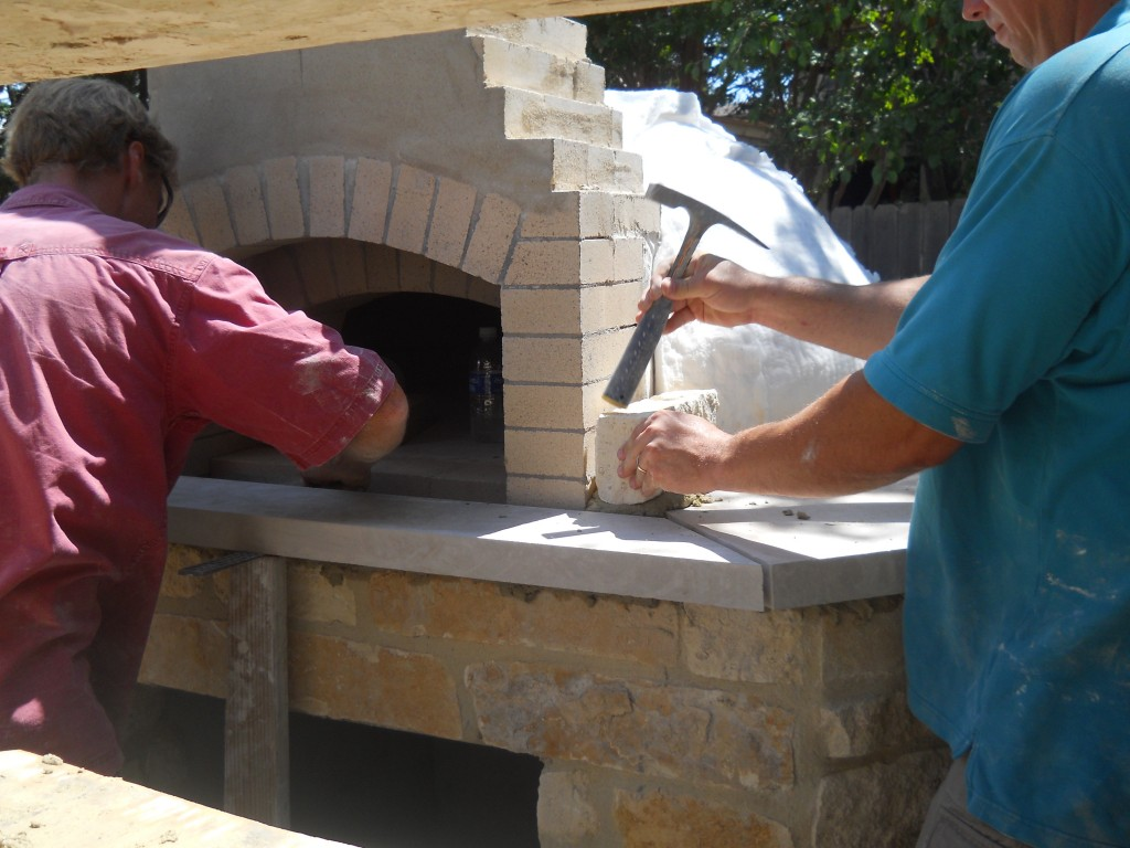 my oven wood-burning oven, pizza oven, modern materials firebrick refractory