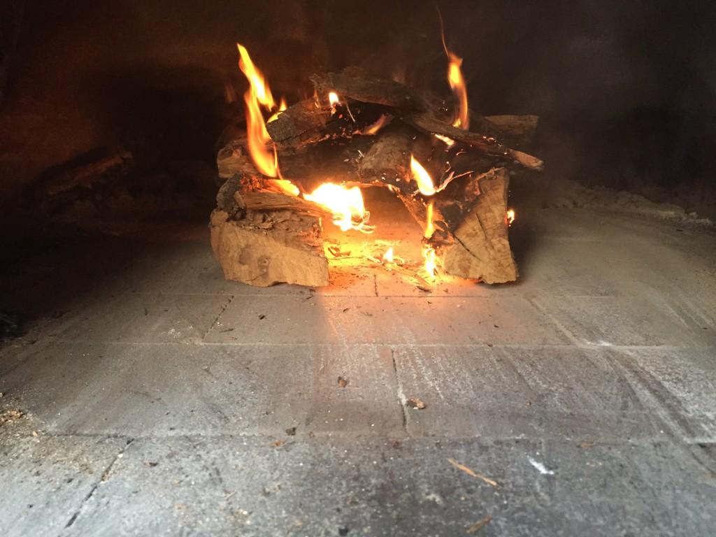 propane wand jump-starts fire