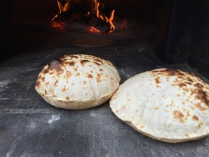 wood-fired-oven roti chapatti
