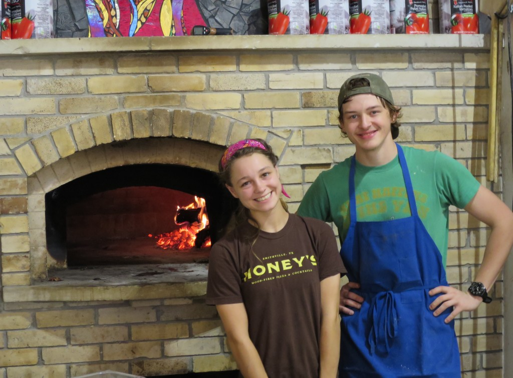 wood-fired oven pizza oven Honey's Smithville