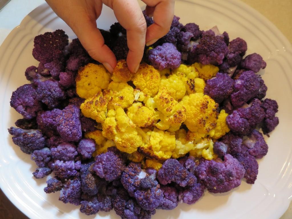 roasting-cruciferous-Roasting-cauliflower-IMG_2945