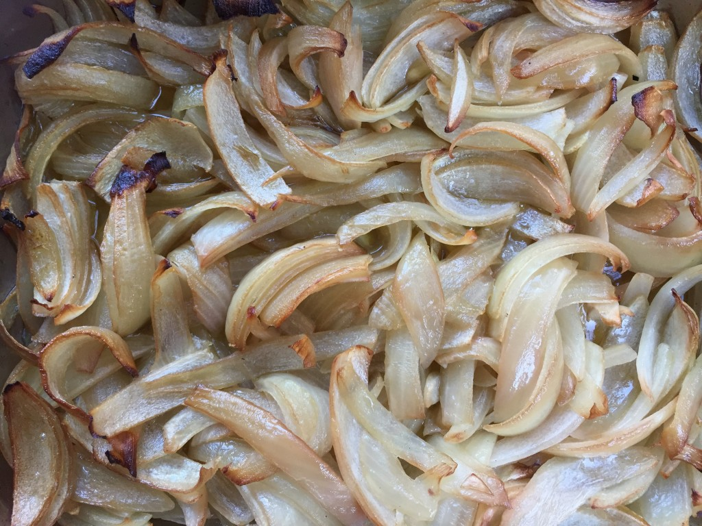 wood-fired-oven-roasting-onions low-and-slow  smoky-onions