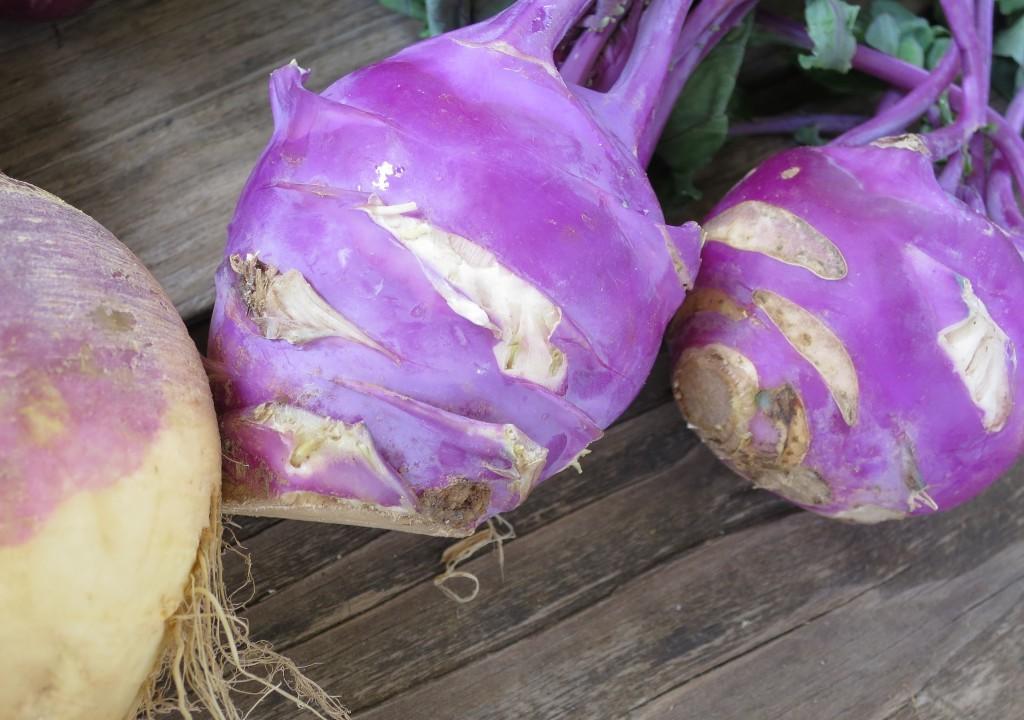 root vegetables kohlrabi