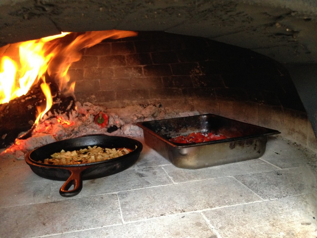 Wood-fired breakfast wood burning oven