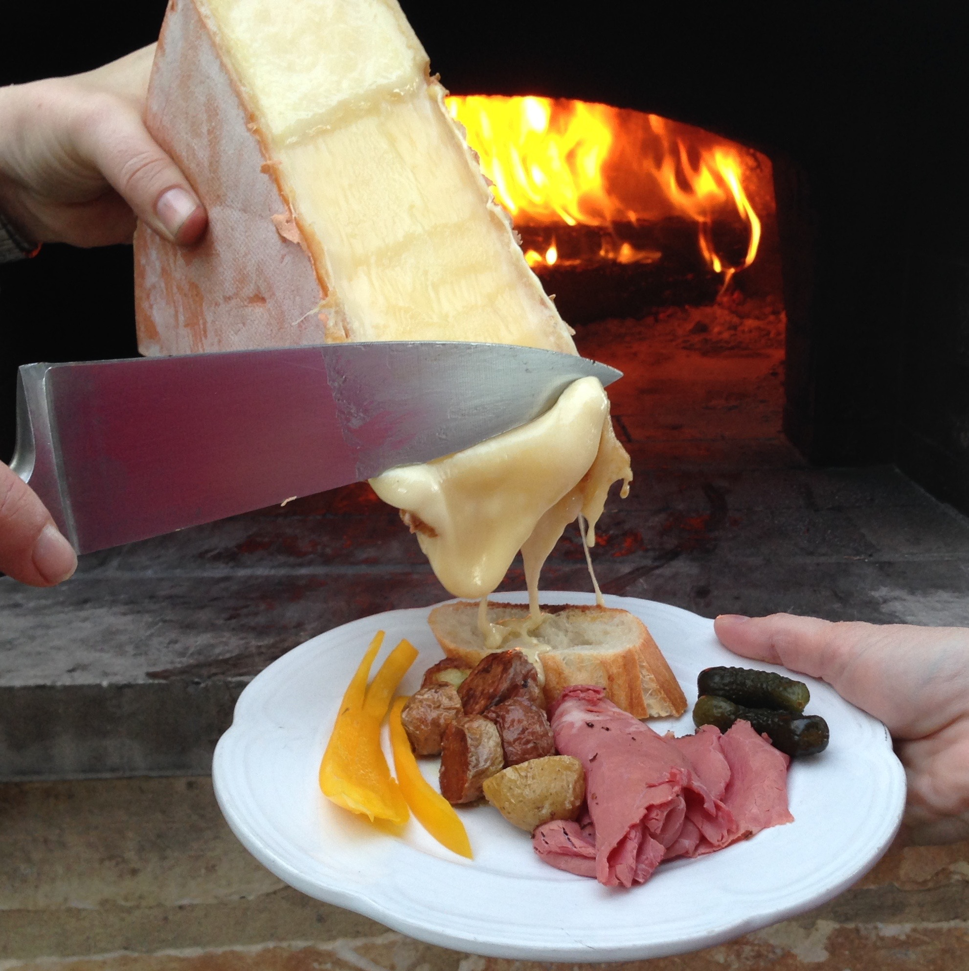 Texas Oven Co Raclette Another Classic For Cooking With