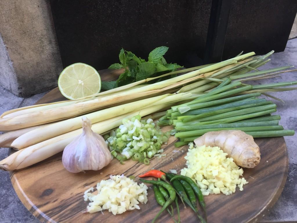 wok pan flavors