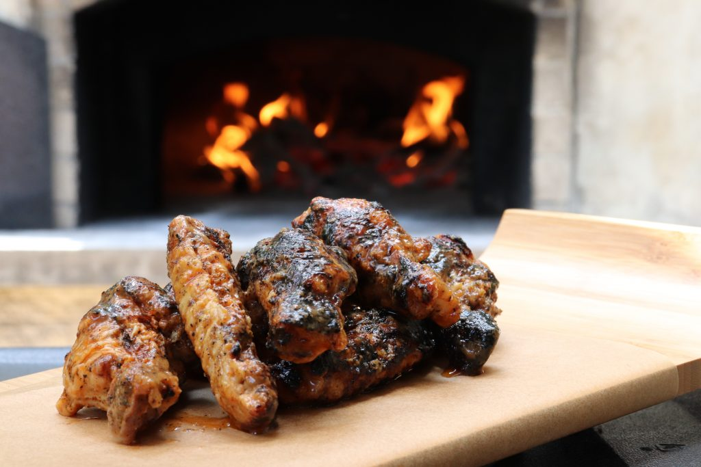 best wood fired chicken wings